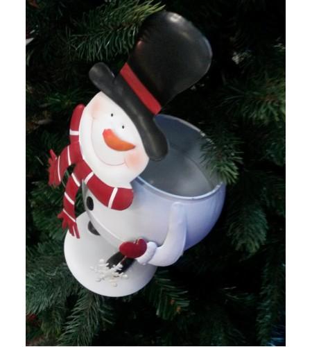 Snowman Flowerpot Holder