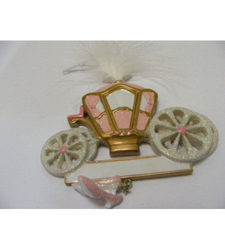 'Little Princess'Carriage Tree Decoration