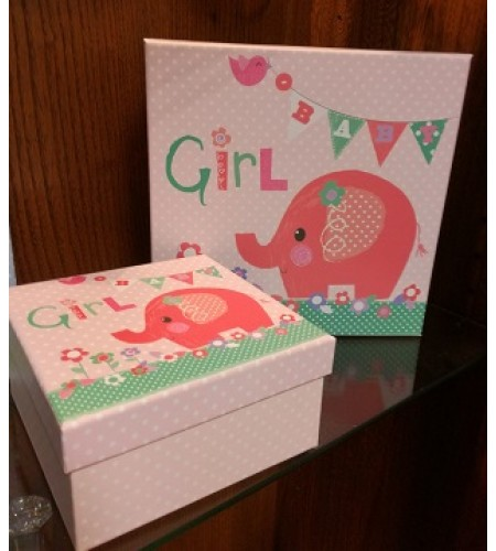 Pink  Girl Gift Box