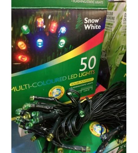 50 Solar Powered LED Lights