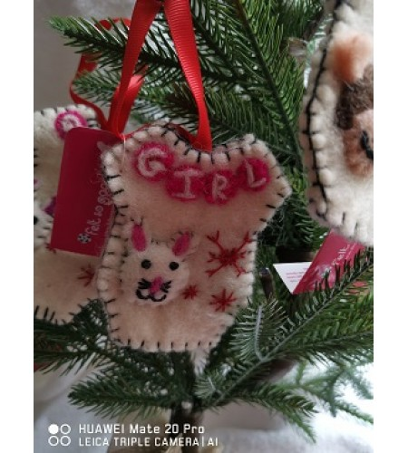 Handcrafted  Boy/Girl Decorations