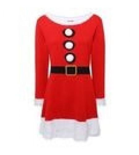 Santa Skater Dress size Large