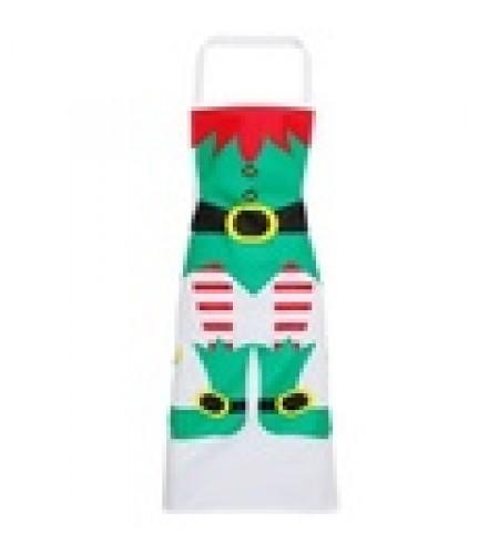 Elf Christmas Apron